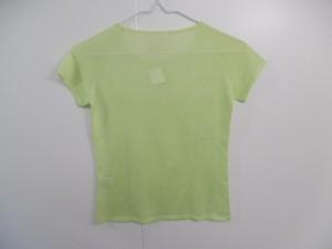 ロッサ ROSSA 半袖セーター サイズ42 L レディース 美品 ライトグリーン【中古】