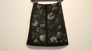 アントニオマラス ANTONIO MARRAS スカート サイズサイズ 38 レディース 新品同様 黒×ブルー×アイボリー 花柄【中古】