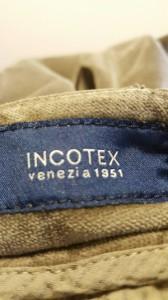 インコテックス INCOTEX パンツ サイズサイズ 38 レディース ダークブラウン ベロア【中古】