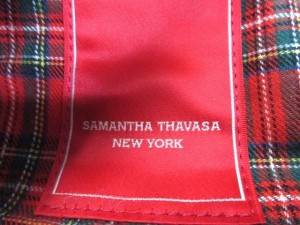 サマンサタバサニューヨーク Samantha Thavasa New York ショルダーバッグ ブラウン 合皮【中古】