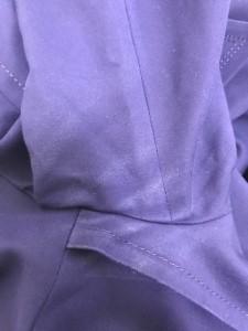 ヴァンドゥ オクトーブル 22OCTOBRE コート サイズ44 L レディース パープル 春・秋物【中古】