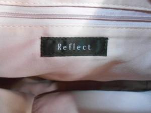 リフレクト ReFLEcT ショルダーバッグ 美品 黒×白 合皮【中古】