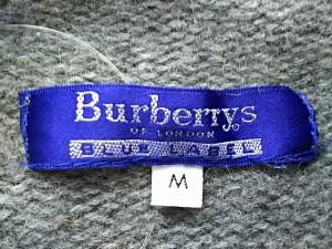 バーバリーブルーレーベル Burberry Blue Label 長袖セーター サイズM レディース グレー カシミヤ【中古】