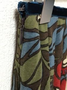 ロイスクレヨン Lois CRAYON スカート サイズM レディース 美品 ダークブラウン×ダークグリーン×レッド【中古】