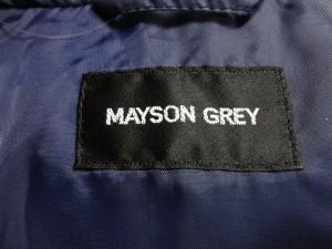 メイソングレイ MAYSON GREY ダウンコート サイズ2 M レディース 美品 ネイビー 冬物【中古】
