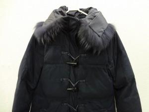 ビッキー VICKY ダウンコート サイズ2 M レディース 美品 ネイビー 冬物/ダッフル【中古】