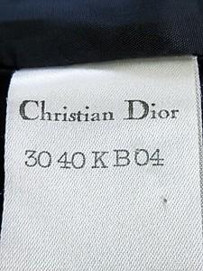 クリスチャンディオール ChristianDior ジャケット サイズL レディース 黒×マルチ 肩パッド【中古】
