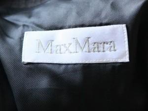 マックスマーラ Max Mara コート サイズ42 M レディース 黒 春・秋物【中古】