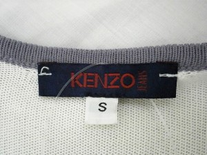 ケンゾー KENZO ワンピース サイズS レディース アイボリー×パープル【中古】