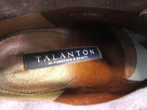 タラントン バイ ダイアナ TALANTON by DIANA ブーティ 22 1/2 レディース ダークグレー スエード【中古】