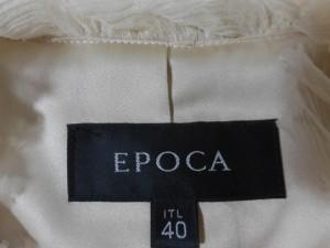 エポカ EPOCA ジャケット サイズ40 M レディース ベージュ【中古】