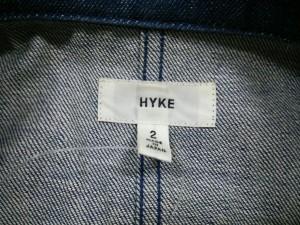 ハイク HYKE コート サイズ2 M レディース ネイビー デニム【中古】