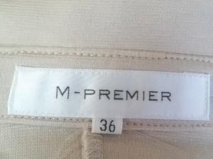 エムプルミエ M-PREMIER ワンピース サイズ36 S レディース 美品 ベージュ シャツワンピ【中古】