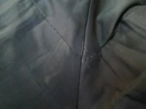 エムプルミエ M-PREMIER パンツ サイズ38 M レディース ダークグレー×ライトグレー ストライプ【中古】
