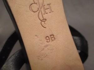 コールハーン COLE HAAN サンダル 9B レディース 黒×ベージュ オープントゥ レザー【中古】