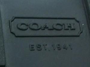 コーチ COACH ブーツ 6M レディース 新品同様 パープル×黒 ウェッジソール/スノーブーツ 化学繊維【中古】