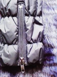 デシグアル Desigual ブルゾン サイズ40 XL レディース 美品 黒×ブルー フェイクレザー/ファー【中古】