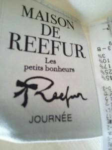 メゾン ド リーファー Maison de Reefur 長袖セーター サイズ38 M レディース 美品 アイボリー×黒【中古】