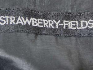 ストロベリーフィールズ STRAWBERRY-FIELDS ワンピース サイズ2 M レディース 黒【中古】