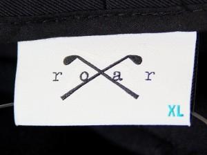 ロアー roar パンツ サイズXL メンズ 黒【中古】