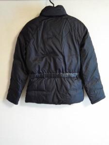 マイケルコース MICHAEL KORS ダウンジャケット サイズ4 S レディース 黒 ジップアップ/冬物【中古】