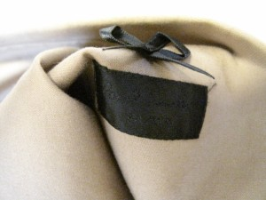 ポールスミスブラック PaulSmith BLACK スカートセットアップ サイズ40 M レディース ベージュ【中古】