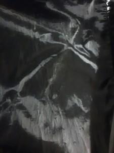 ドルチェアンドガッバーナ ブルゾン サイズ52 L メンズ 黒×ダークグレー×カーキ 異素材切り替え/レザー/春・秋物【中古】