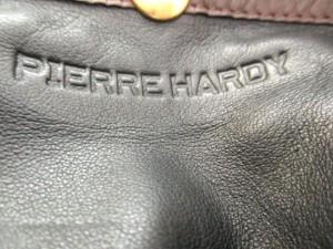 ピエールアルディ PIERRE HARDY ショルダーバッグ ブラウン×ダークブラウン レザー【中古】