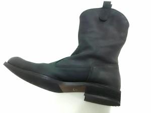 ボイコット BOYCOTT ブーツ 26 メンズ 黒 レザー【中古】