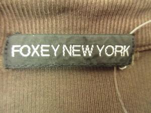 フォクシーニューヨーク FOXEY NEW YORK カーディガン レディース ダークブラウン【中古】