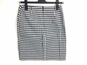 イエナ スローブ IENA SLOBE スカート サイズ36 S レディース 新品同様 黒×白 チェック柄【中古】