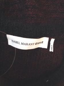 イザベルマラン ISABEL MARANT 長袖セーター サイズ36 S レディース ボルドー×黒【中古】