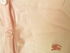 バーバリーブルーレーベル Burberry Blue Label カーディガン サイズ38 M レディース ピンク【中古】