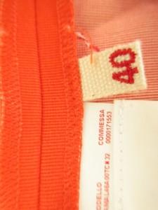 マルニ MARNI ショートパンツ サイズ40 M レディース レッド×ダークネイビー【中古】