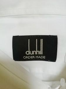 ダンヒル dunhill/ALFREDDUNHILL 長袖シャツ メンズ 美品 白 オーダーメイド【中古】
