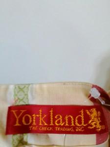 ヨークランド YORKLAND ワンピース サイズ9AR S レディース 美品 ベージュ×レッド×ライトグリーン チェック柄【中古】