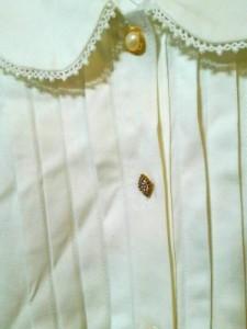 ドーリーガール DOLLY GIRL 半袖シャツブラウス サイズ2 S レディース 美品 白【中古】