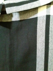 ヨークランド YORKLAND ワンピース サイズ9AR S レディース 美品 白×黒 チェック柄【中古】