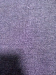 ポールスミスブラック PaulSmith BLACK 半袖セーター サイズM レディース ダークグレー タートルネック/ボタン【中古】