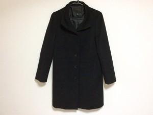 アイシービー ICB コート サイズ9(J) レディース 黒 冬物【中古】