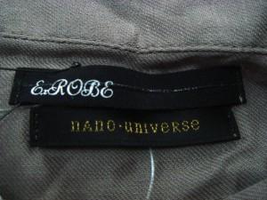 ナノユニバース nano universe ワンピース サイズ36 S レディース 美品 グレーベージュ シャツワンピ【中古】