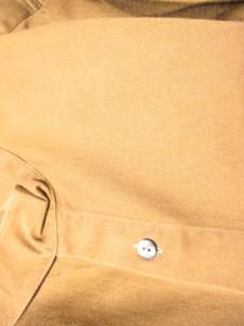 ゴルチエ JUNIOR GAULTIER 長袖シャツ サイズ46 XL メンズ カーキ【中古】