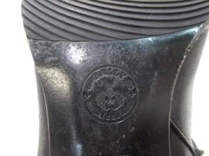 バリー BALLY ロングブーツ レディース 黒 レザー【中古】