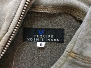 レキップ ヨシエイナバ L'EQUIPE YOSHIE INABA ブルゾン サイズ9 M レディース カーキ【中古】