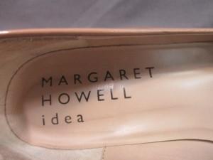 マーガレットハウエル MargaretHowell パンプス 22 レディース ベージュ ウェッジソール/idea エナメル(レザー)【中古】