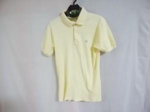 マンシングウェア Munsingwear 半袖ポロシャツ サイズSMALL S レディース イエロー GRANDSLAM【中古】
