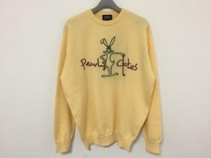 パーリーゲイツ PEARLY GATES 長袖セーター サイズ5 XS レディース 新品同様 ベージュ×黒×ボルドー【中古】