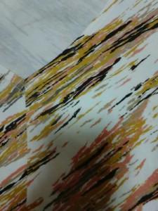 レリアン Leilian スカートセットアップ サイズ11 M レディース アイボリー×ベージュ×マルチ【中古】
