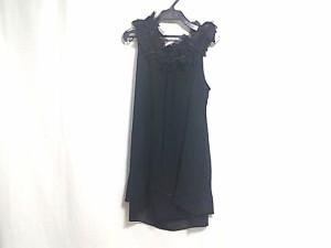 アンシャントマン ENCHANTEMENT...? ドレス サイズ38 M レディース 美品 黒 シルク【中古】
