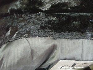 カルバンクライン CalvinKlein コート サイズS レディース 美品 黒 ベロア/冬物【中古】